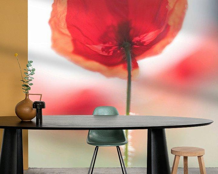 Sfeerimpressie behang: Poppy van Martijn van der Nat