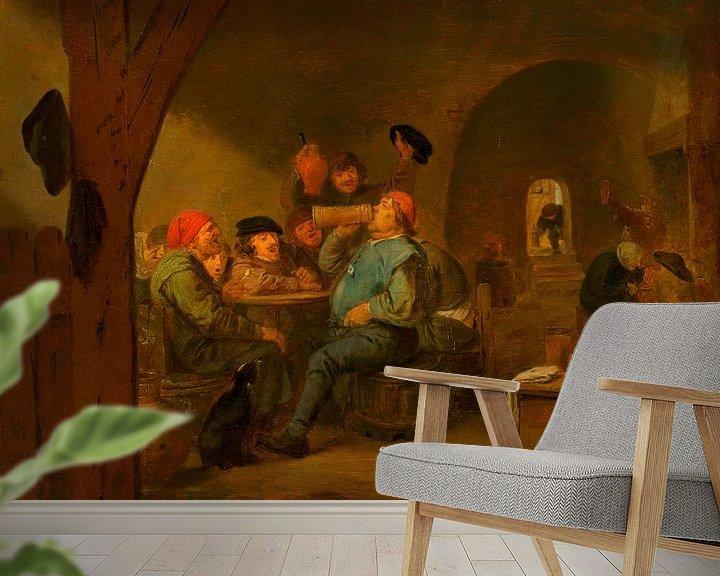 Beispiel fototapete: Der Meistertrunk, Adriaen Brouwer