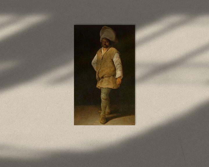 Beispiel: Ein Pförtner, Adriaen Brouwer