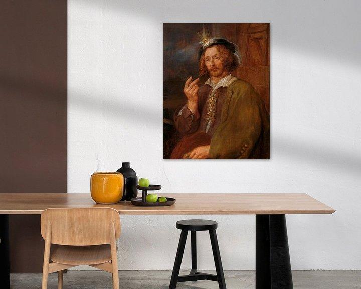 Beispiel: Selbstporträt, Adriaen Brouwer