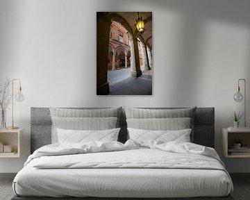 Bögen im Zentrum von Bologna, Italien von Joost Adriaanse