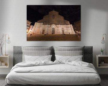 Die Basilika San Petronio im Zentrum von Bologna von Joost Adriaanse