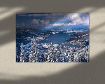 Winter am Tegernsee von Achim Thomae