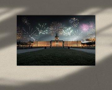 Feuerwerk über den Schloss Charlottenburg von Sergej Nickel