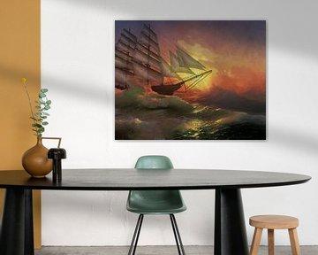 Zware zee van Lutz Roland Lehn