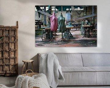 verlassene Textilfabrik von urbex lady