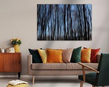 Spuckender Wald. von Tineke Koen