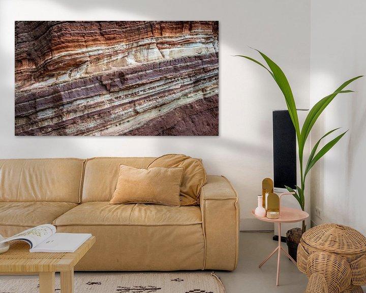 Beispiel: Felswand-Erosionsstruktur Helgoland von Martijn van Dellen