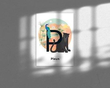 Pleun-Namensplakat von Hannahland .