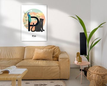 Pim-Namen-Poster von Hannahland .