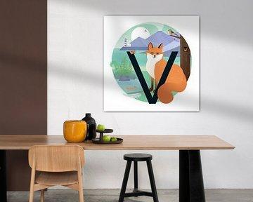 Der Fuchs und der Leuchtturm von Hannahland .
