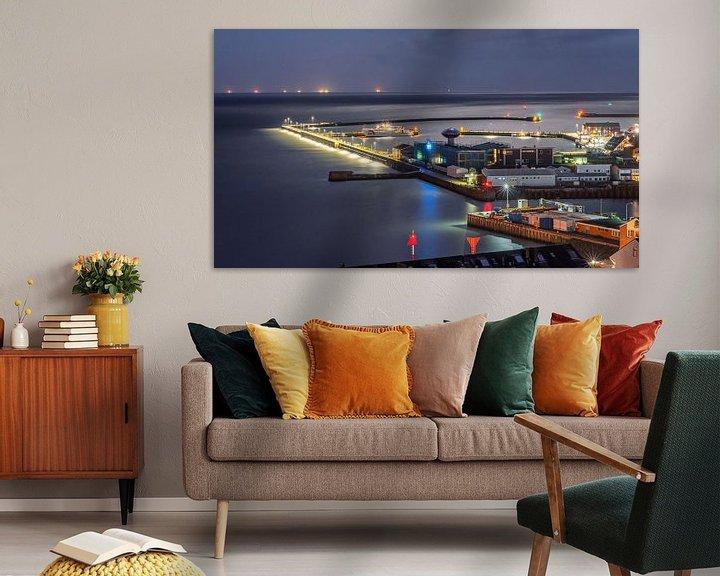 Impression: Port Helgoland, Allemagne sur Martijn van Dellen
