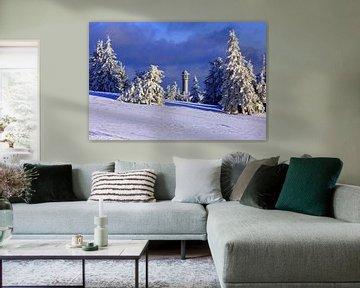 Feldberg im Winter von Patrick Lohmüller
