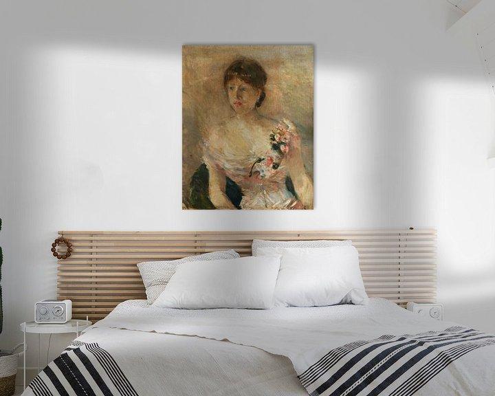 Beispiel: Bildnis einer Dame, Berthe Morisot