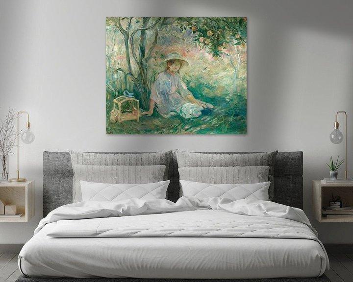 Beispiel: Unter dem Orangenbaum (Sous l'oranger), Berthe Morisot