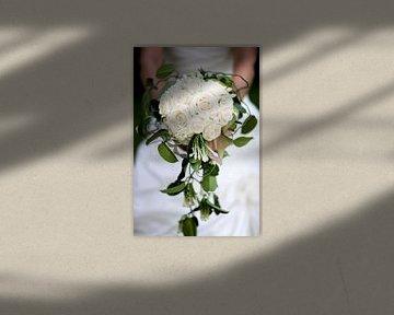 Bruidsboeket lichtroze