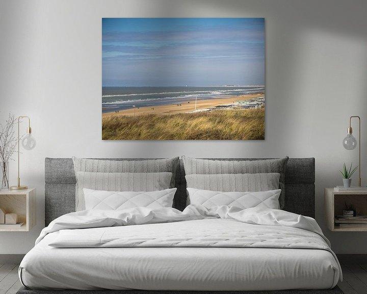 Beispiel: Strand Zandvoort von Martijn Tilroe