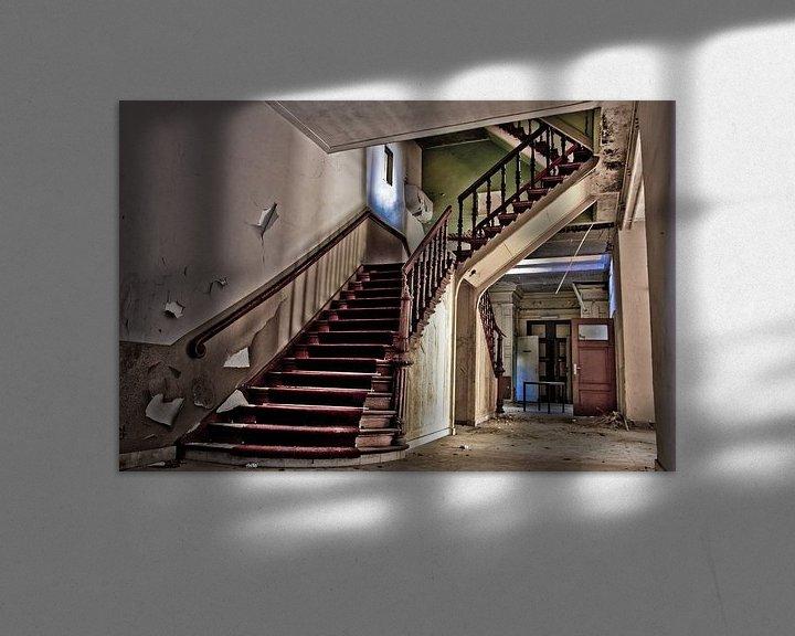 Beispiel: old stairway von Sven van der Kooi (kooifotografie)