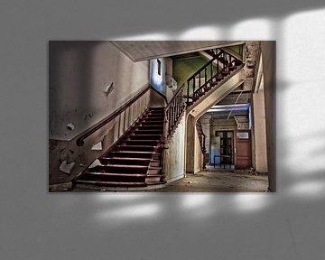 old stairway von Sven van der Kooi (kooifotografie)