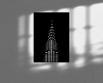 Chrysler-Gebäude bei Nacht von Govart (Govert van der Heijden)