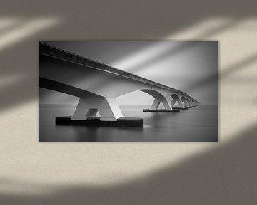 See-Sandbrücke lange Exposition VII von Teun Ruijters