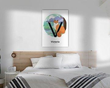 Namensplakat Victoria von Hannahland .