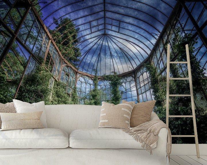 Beispiel fototapete: Das Gewächshaus von Kirsten Scholten