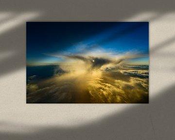 Wolkenskulptur von Denis Feiner