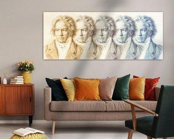 Der Fünfte von Beethoven, Ludwig van Beethoven von Gert Hilbink