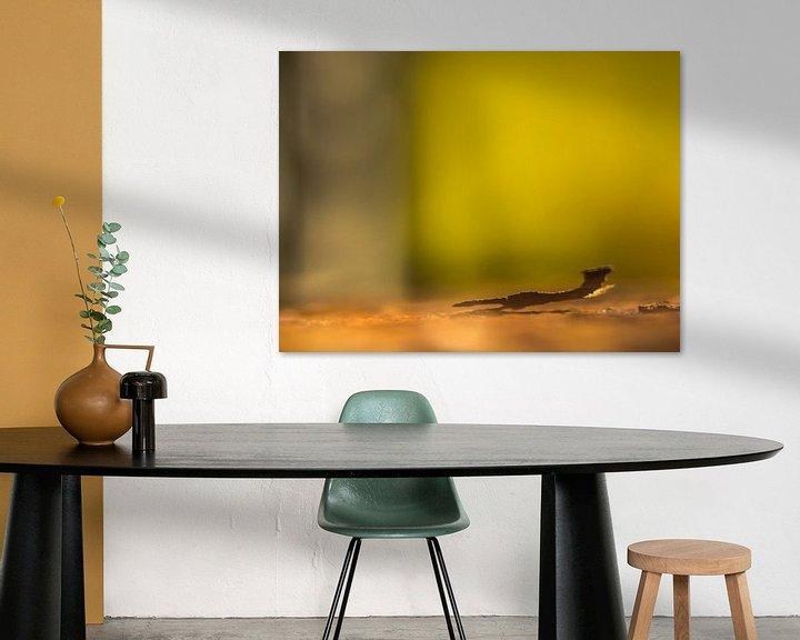 Sfeerimpressie: metalen plaatje van Martijn Tilroe