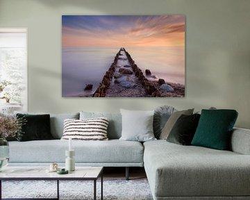 Infinite seascape van Dennisart Fotografie