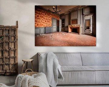 Urban exploration Gangen, kamers en nog meer kamers van Aurelie Vandermeren