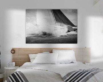 Skimütze durch eine Welle von ThomasVaer Tom Coehoorn
