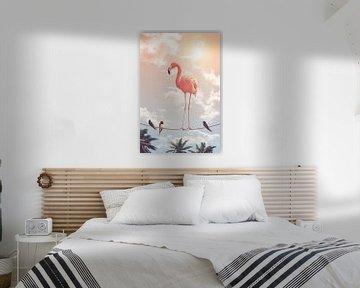 Flamingo & Friends von Jonas Loose