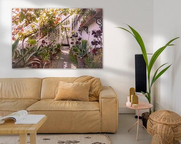 Englisches Pflanzengewächshaus von Esther Faber