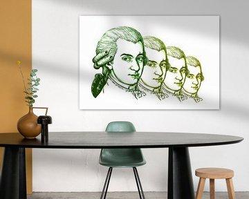 Wolfgang Amadeus Mozart, Komponist und Musiker von Gert Hilbink