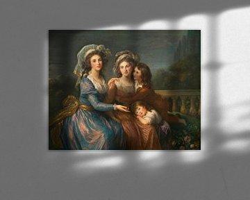Zwei Marquisen und Söhne, Élisabeth Vigée-Le Brun
