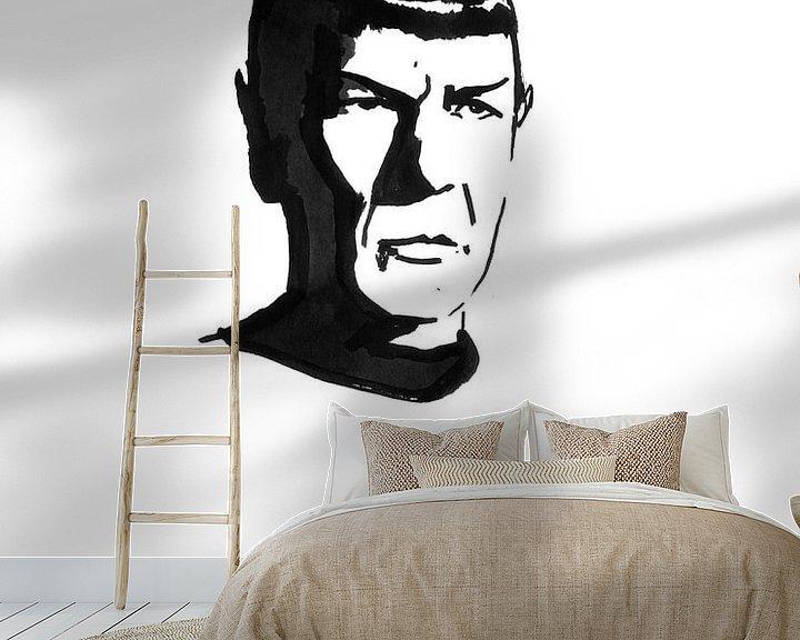 Beispiel fototapete: Herr Spock von Péchane Sumie