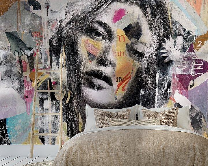 Sfeerimpressie behang: Take me a higher love van Michiel Folkers
