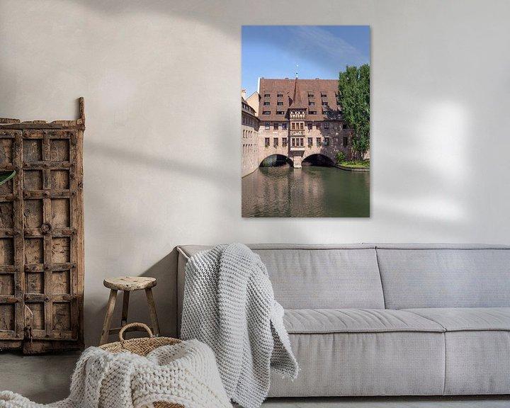 Beispiel: Heilig-Geist-Spital an der Pegnitz, Altstadt, Nürnberg von Torsten Krüger