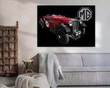 MG VA Tourer Special van aRi F. Huber