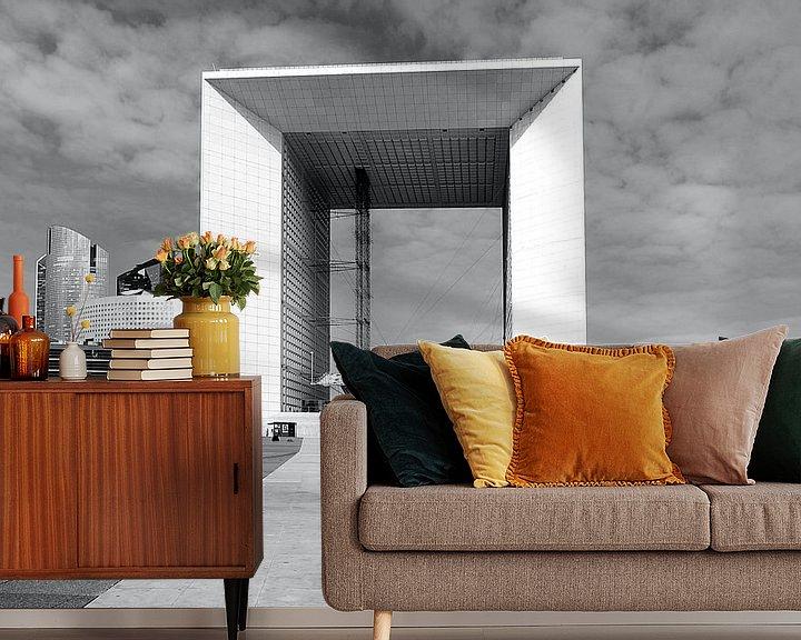 Beispiel fototapete: La Défense  Paris von Patrick Lohmüller