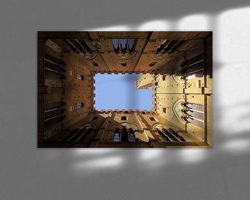 Siena Palazzo Pubblico von Patrick Lohmüller