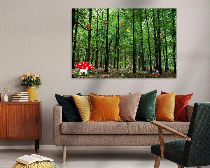 Beispiel: Gnomen-Wald von Kees-Jan Pieper