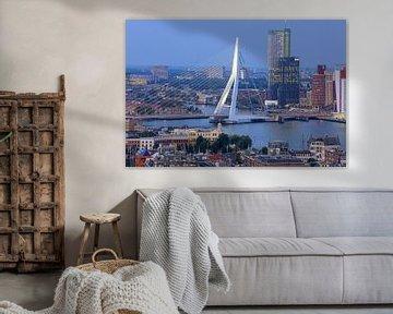 Blick auf Rotterdam von Patrick Lohmüller