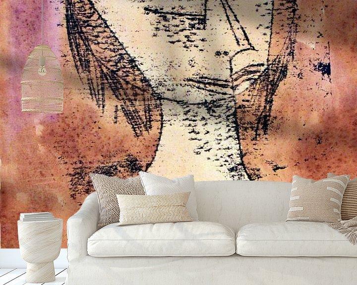 Beispiel fototapete: Paul Klee.Der heilige
