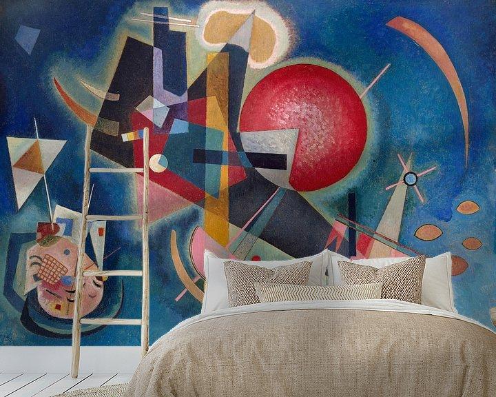 Beispiel fototapete: Im Blau - Wassily Kandinsky