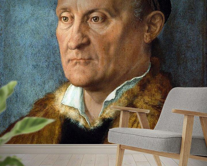 Beispiel fototapete: Albrecht Dürer.Porträt von Jakob Muffel