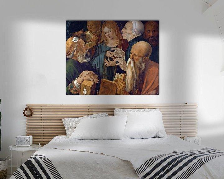Beispiel: Albrecht Dürer.Jesus zwischen den Ärzten