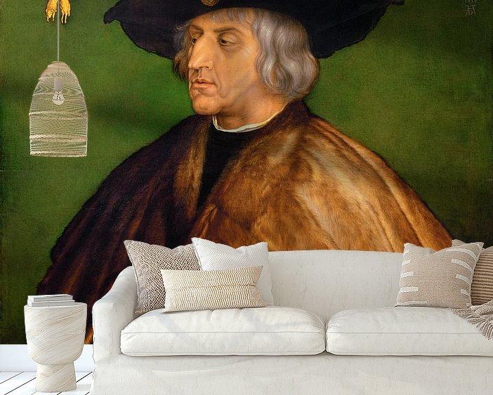 Beispiel fototapete: Albrecht Dürer.Porträt von Maximilian I.